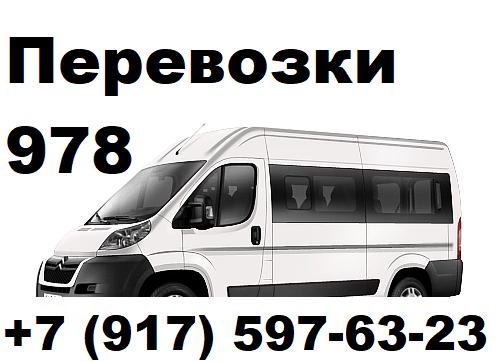 Донской р-н - грузопассажирские перевозки, микроавтобус