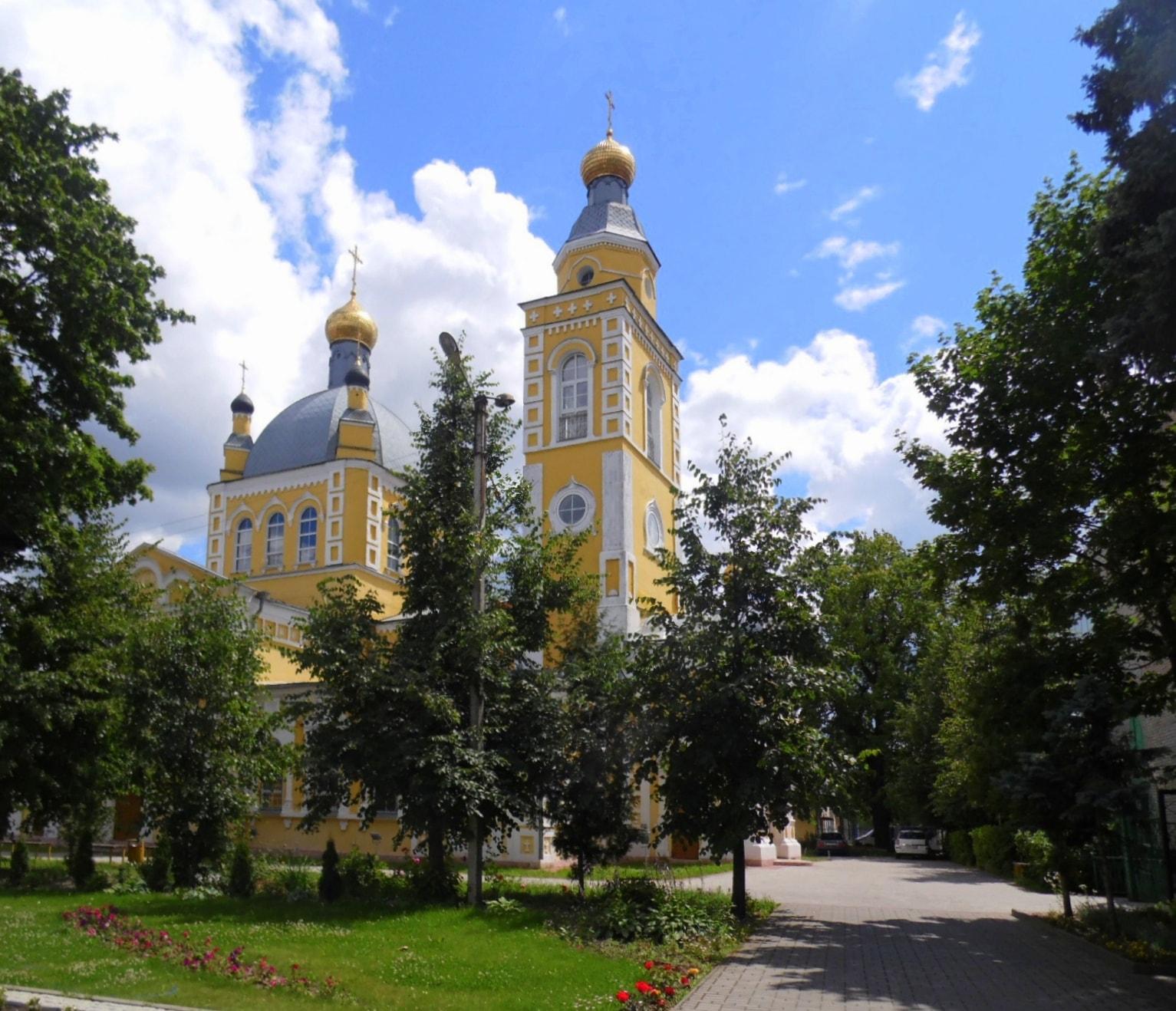 Клинцы, фото собора в Клинцах.