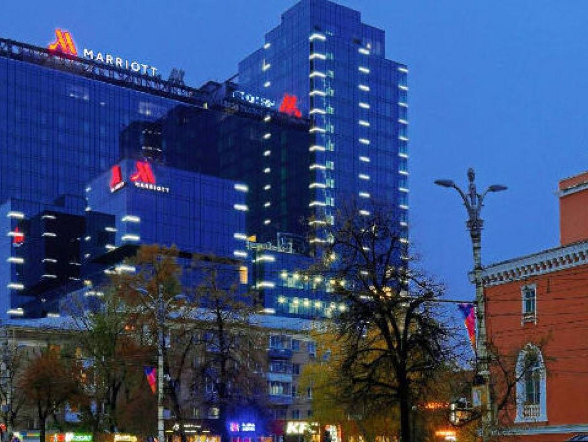 Воронеж, гостиница мариот в центре Воронежа, фото в городе Воронеже.