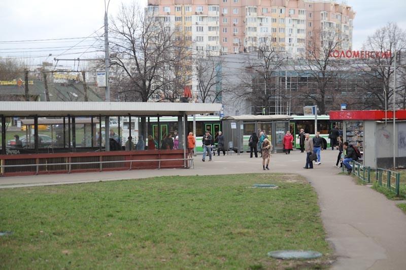 Метро Коломенская в Москве