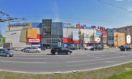 Район метро Варшавская.