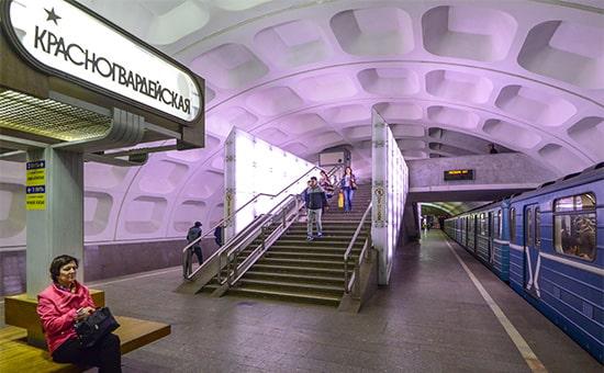 Станция метро Красногвардейская.