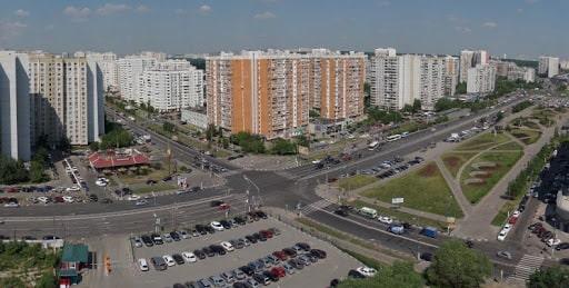 Район Северное Бутово.