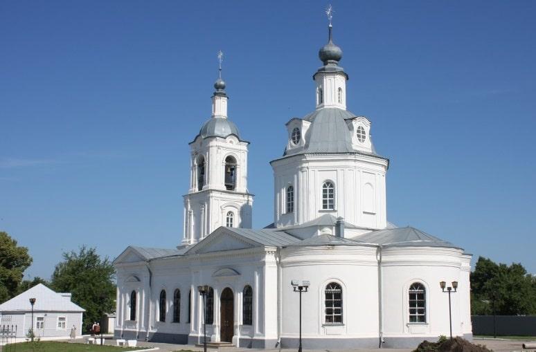 Алексин, храм Николая Чудотворца.