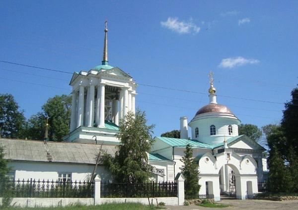 Богородицк, Успенский храм.