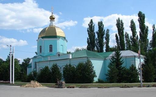 Чаплыгин, Липецкая область, церковь.