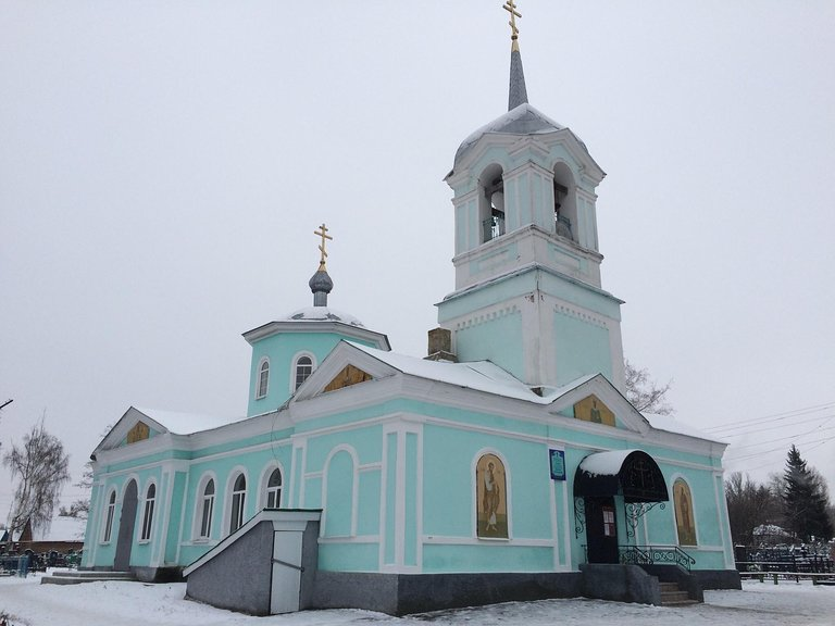 Дмитриев, Курская область.