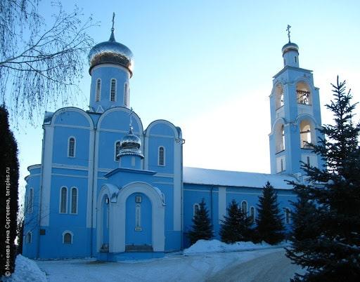 Ефремов, храм Иконы Божией Матери.