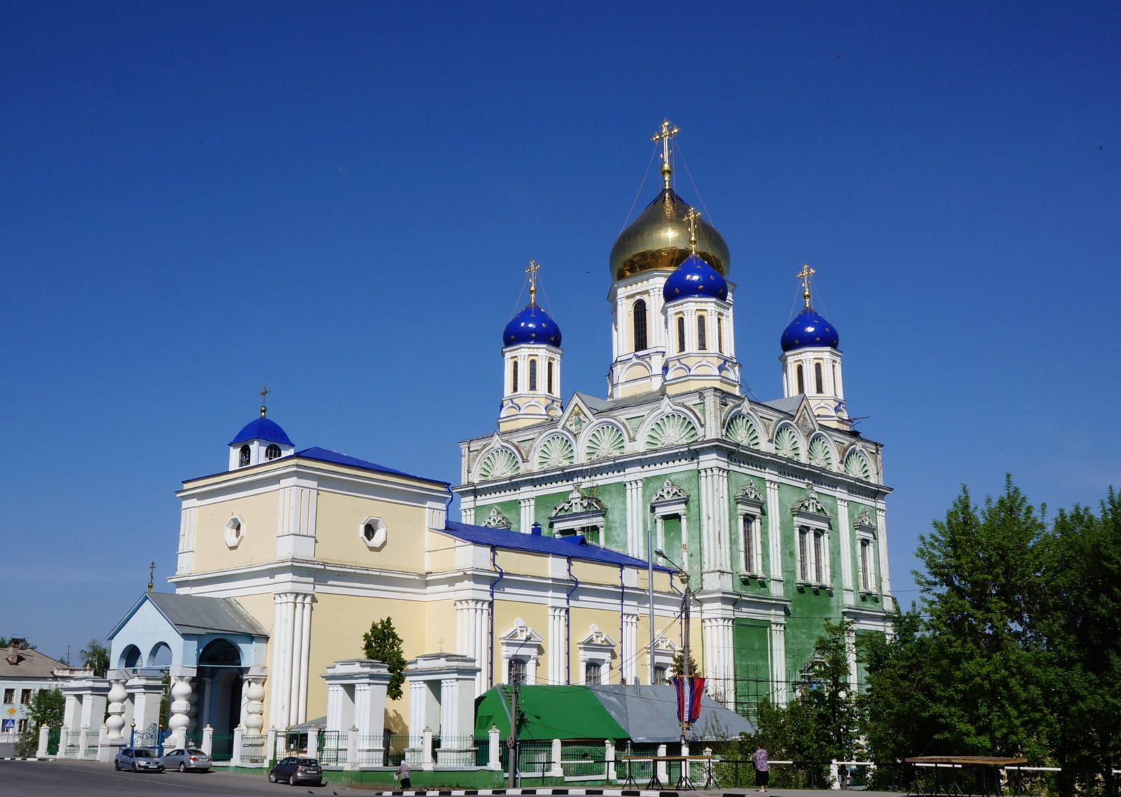 Елец, Липецкая область собор.
