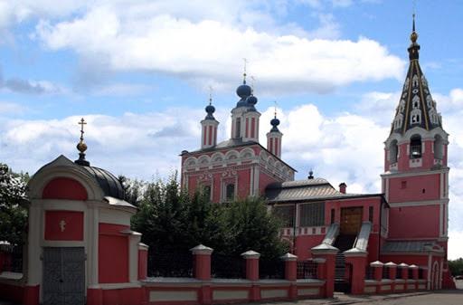 Город Калуга, собор.