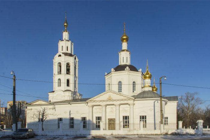 Город Орёл, собор.
