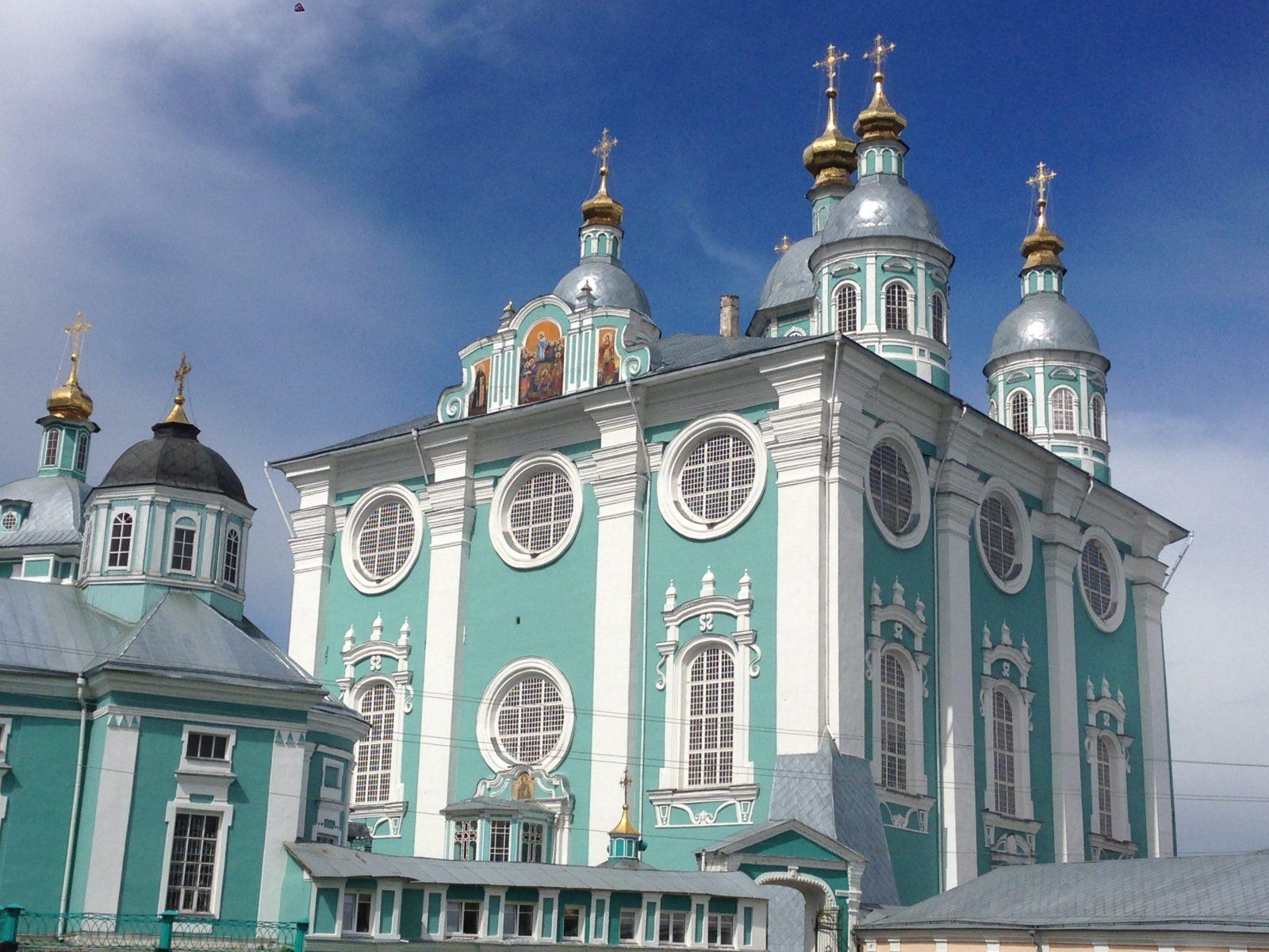Город Смоленск, храм.