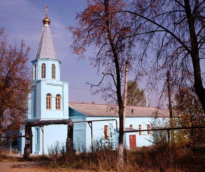 Город Суворов, храм.