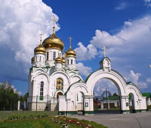 Город Тамбов, храм.