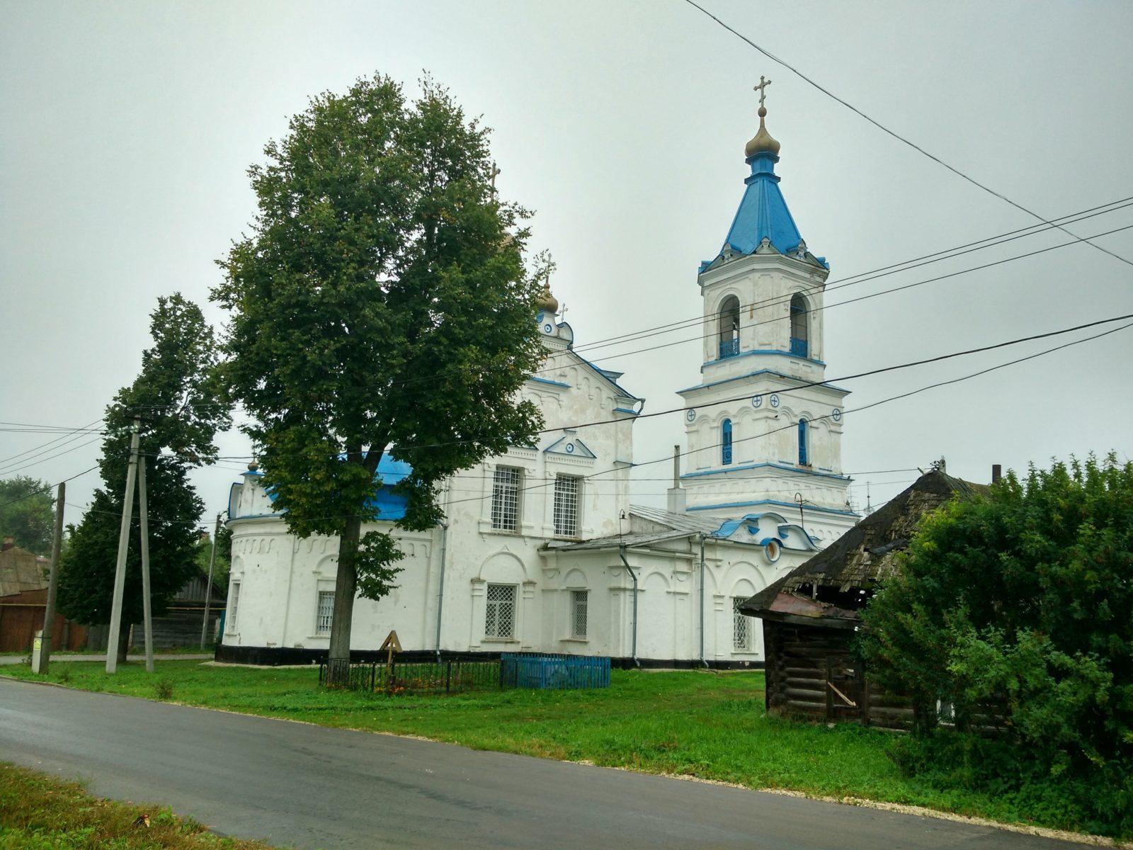 Храм Рождества Пресвятой Богородицы в Белёве.