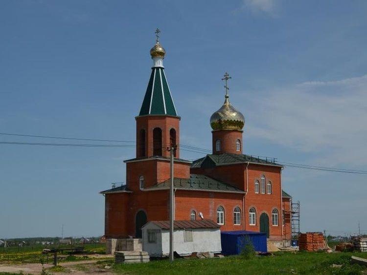 Ясногорск, церковь.