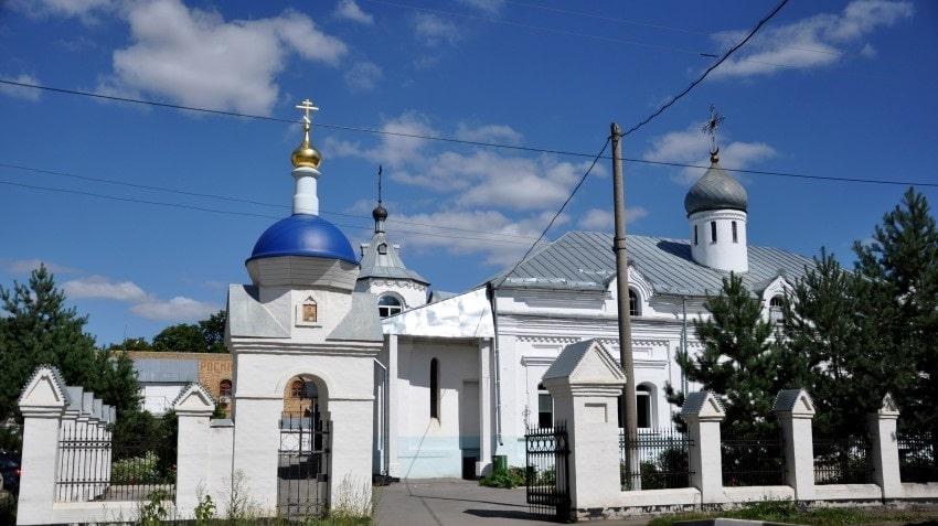 Кимовск, Храм иконы Божией Матери.