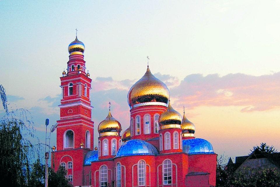 Храм в Котовске Тамбовской области.