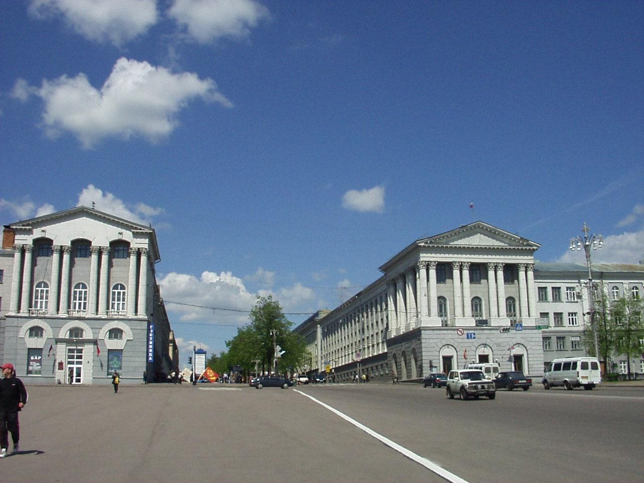 Город Курск.