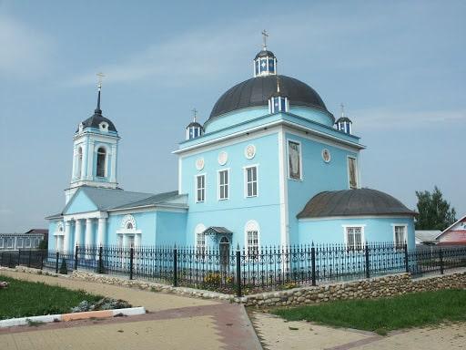 Сухиничи, церковь.