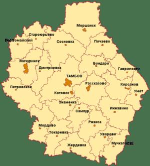 Тамбов ритуальные услуги и Тамбовская область.