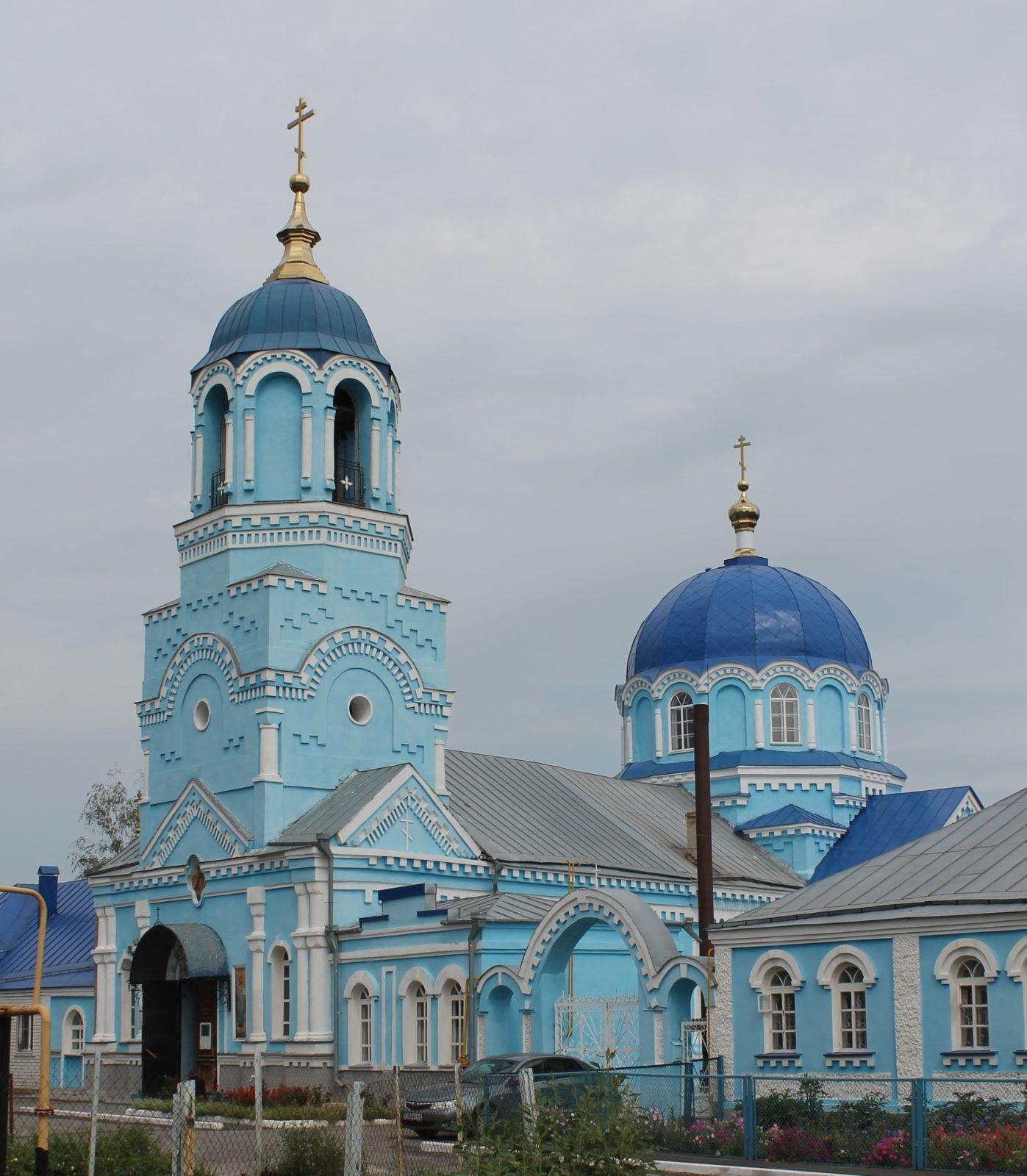 Усмань, Липецкая область, церковь.