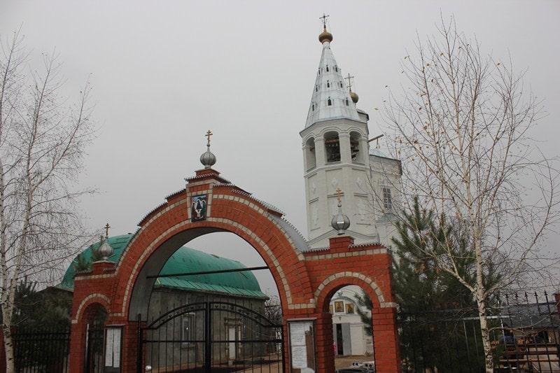 Венёв, Богоявленский храм.