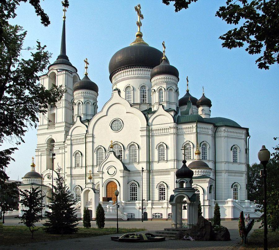 Воронеж, храм.