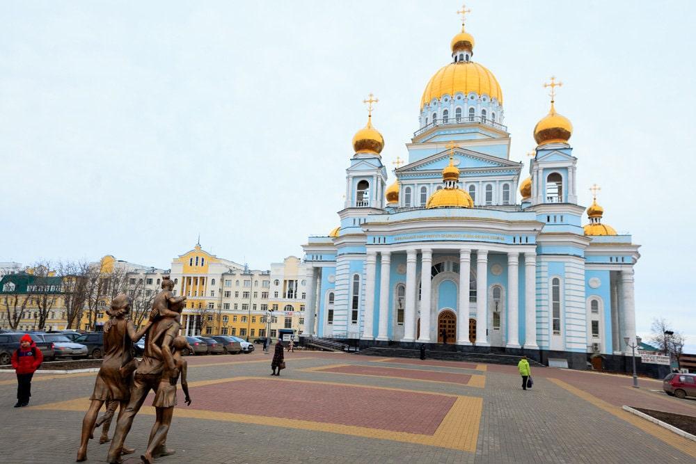 Город Саранск.